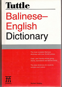 Balinese-English Dictionary - Norbert Shadeg