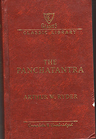 The Panchatantra - Arthur W Ryder