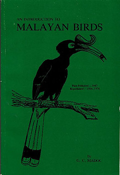 An Introduction to Malayan Birds - G. C. Madoc