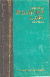 Essays in Malaysian Law - RH Hickling