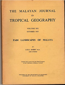 Padi Landscapes of Malaya - EHG Dobby and Others