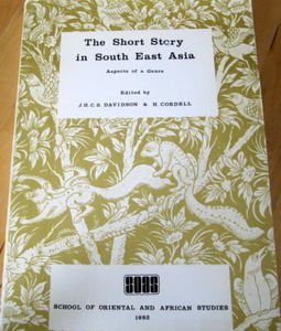 The Short Story in South-East Asia - JHCS Davidson & H Cordell (eds)
