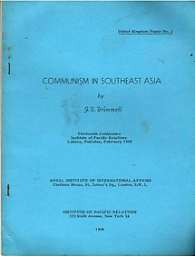 Communism in Southeast Asia - JB Brimmell