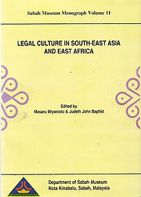 Legal Culture in South-East Asia and East Africa - Masaru Miyamoto & Judeth John Baptist (eds)