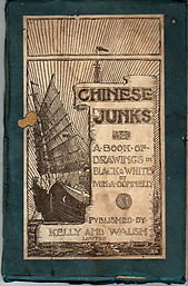 Chinese Junks: A Book of Drawings in Black and White -  Ivon A Donnelly