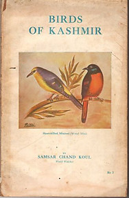 Birds of Kashmir - Samsar Chand Koul