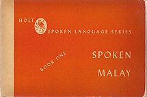 Spoken Malay - Book One - Isidore Dyen