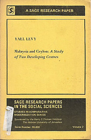 Malaysia and Ceylon: A Study of Two Developing Countries - Yael Levy