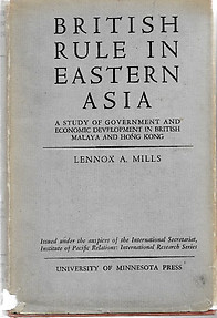 British Rule in Eastern Asia: LA Mills