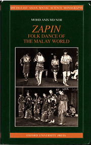 Zapin Folk Dance of the Malay World - Mohd Anis Md Nor
