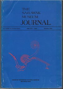 The Sarawak Museum Journal Vol XXXIII Nos 54 (New Series) (December 1984)