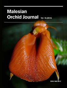 Malesian Orchid Journal Vol 16 (2015) - Andre Schuiteman (ed)