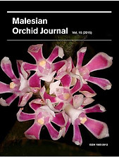 Malesian Orchid Journal Vol 15 (2015) - Andre Schuiteman (ed)
