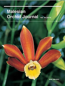 Malesian Orchid Journal Vol 14 (2014) - Andre Schuiteman (ed)