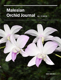 Malesian Orchid Journal Vol 17 (2016) - Andre Schuiteman (ed)