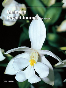 Malesian Orchid Journal Vol 4 (2009) - Jeffrey J Wood (ed)