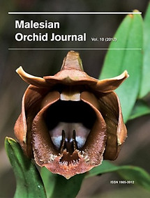 Malesian Orchid Journal Vol 10 (2012) - Jeffrey J Wood (ed)