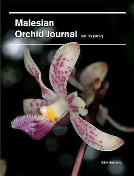 Malesian Orchid Journal Vol 19 (2017) - Andre Schuiteman (ed)