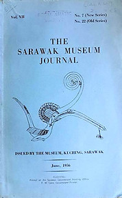 The Sarawak Museum Journal Vol. VII No. 7 (New Series)(June 1956)