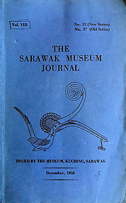 The Sarawak Museum Journal Vol. VIII No. 12 (New Series) (December, 1958)