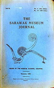 The Sarawak Museum Journal Vol VI No. 4 (New Series)(December 1954)