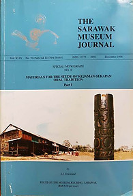 Materials for the Study of Kejaman-Sekapan Oral Tradition - SS Strickland