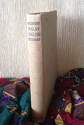 An Abridged Malay-English Dictionary (Romanised) - RJ Wilkinson