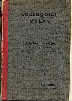 Colloquial Malay - Richard Winstedt