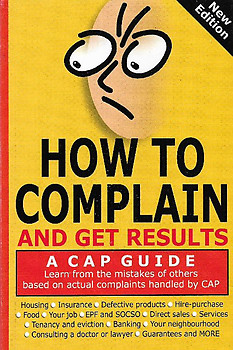 How to Complain and Get Results - Consumers Association Penang