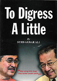 To Digress A Little - Syed Akbar Ali