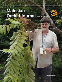 Malesian Orchid Journal Vol 23 (2019) - Andre Schuiteman (ed)