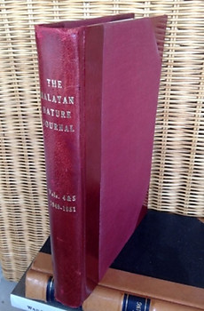 Malayan Nature Journal Vol IV.2  (1949) & Vol V. 1-4 (1950-1951) - Malayan Nature Society