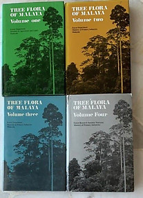 Tree Flora of Malaya (Four Volumes) - Francis SP Ng & FC Whitmore (eds)