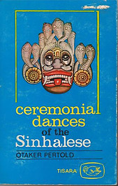 Ceremonial Dances of the Sinhalese - Otaker Pertold