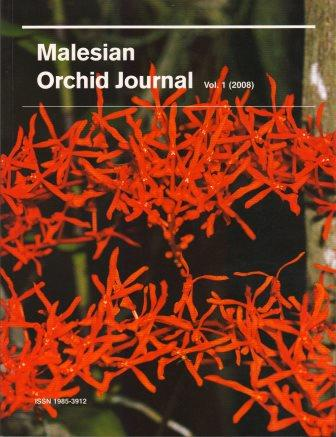 Malesian Orchid Journal Vol 1 (2008) - Chan C. L. & others