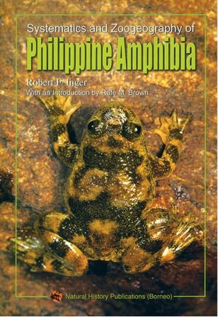 Systematics and Zoogeography of Philippine Amphibia - Robert F. Inger