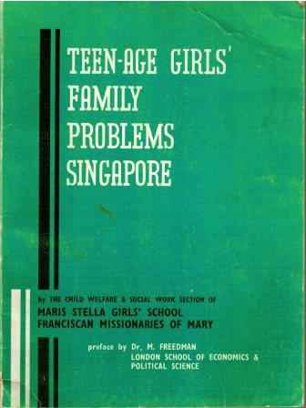 Teen-age Girls' Family Problems, Singapore  -  Maris Stella Girls' School