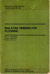 Malayan Timbers for Flooring - HJ Burgess