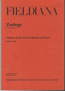 Tadpoles of the Forested Regions of Borneo - Robert Inger